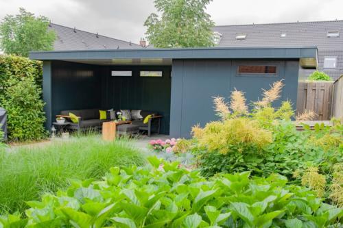 Tuinhuis met overkapping - Hermes Tuinhuis - Beudel